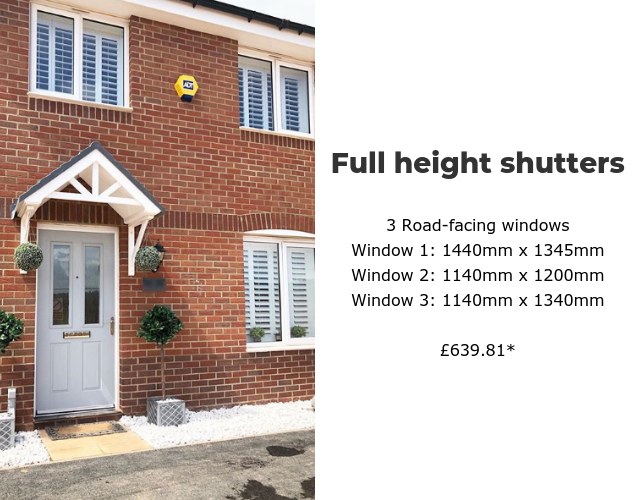 How Much Do Wooden Window Shutters Cost? - Shutter Store UK