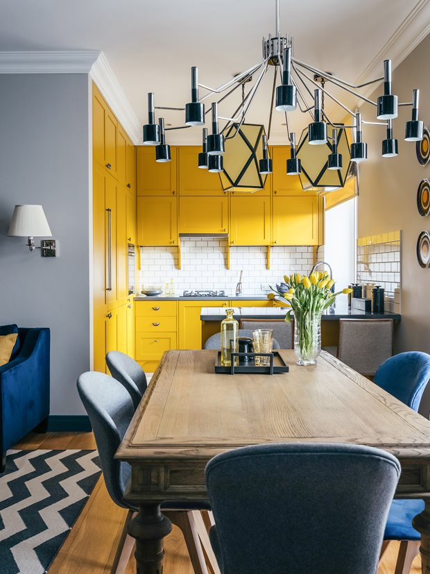 1_Delightfull_Small-Yellow-Kitchen-with-Black-Suspension-Lamp.jpg