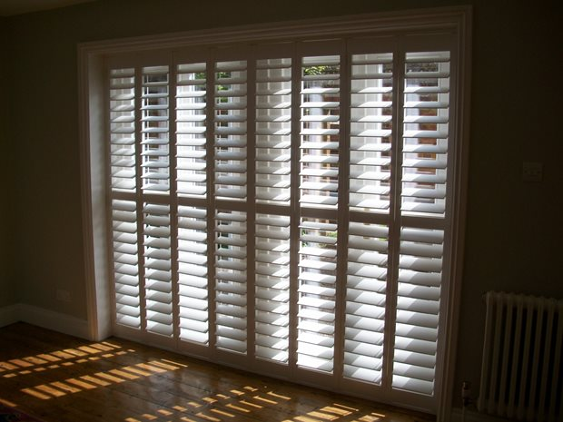 Shutters for patio doors - The Shutter Store