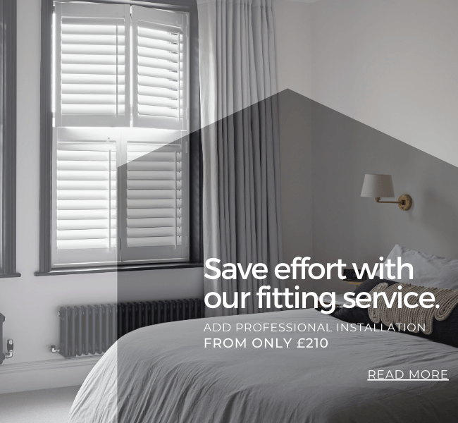 Save effort with our fitting service.