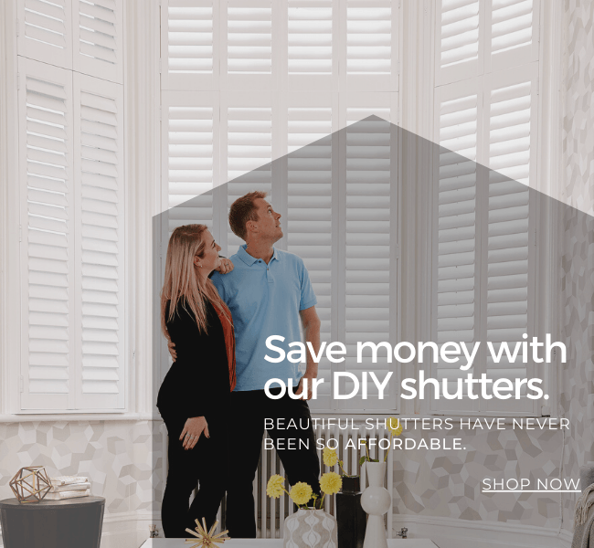 Save money with our DIY shutters.