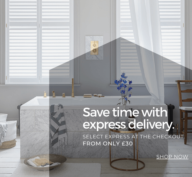Save time with express delivery.